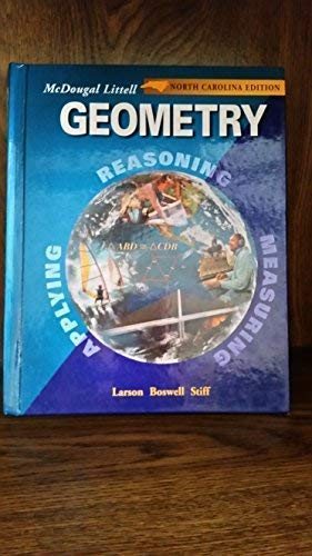9780618293667: Geometry, Grades 9-12: McDougal Littell High School Math North Carolina