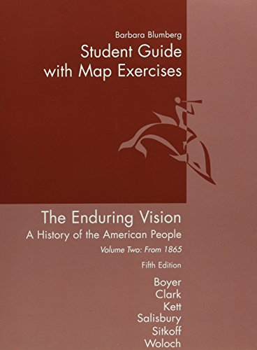 9780618295678: Student Guide with Map Exercises for
