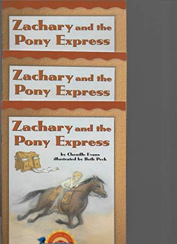 9780618295876: Zachary and the Pony Express (Leveled Readers)