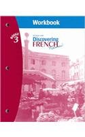 9780618299249: Discovering French Nouveau! Rouge 3 Workbook