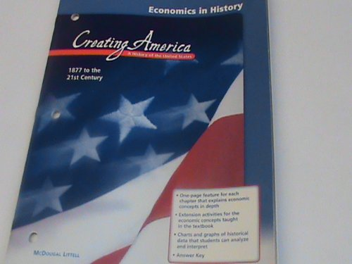 9780618300754: McDougal Littell Creating America: Access for Students Acquiring English Spanish Translations Grades 6-8