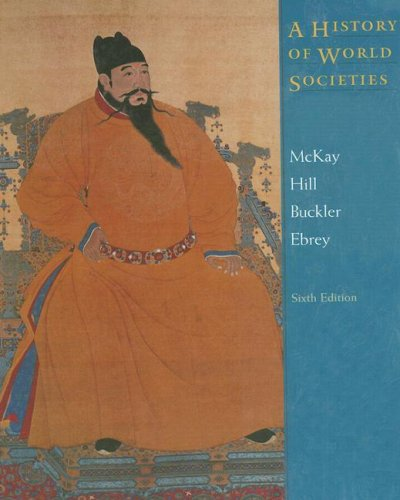 9780618301959: A History of World Societies