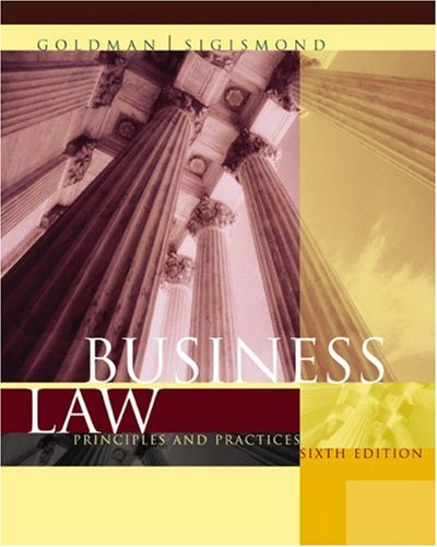 9780618302932: Business Law: Principles and Practices, 6th Edition