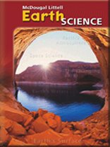 9780618303687: McDougal Littell Middle School Science: Student Edition Single Volume Edition Grades 6-8 Earth Science 2005