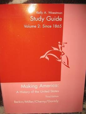 9780618304080: Study Guide Making America: A History of the United States 3rd Ed. (Vol. 2 since 1865)