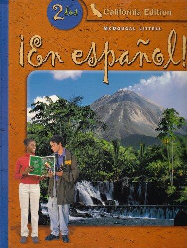 9780618304424: ¡En español! California: Student Edition Level 2 2004 (Spanish Edition)