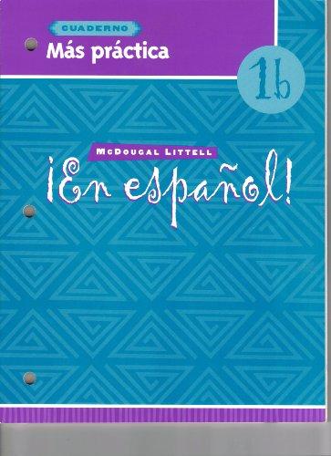 9780618304608: Mas Practicas: En Espanol Level 1B (Spanish Edition)