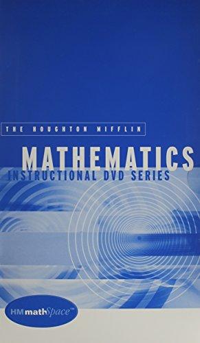 9780618304783: Houghton Mifflin Mathematics Instructional Dvd: Used with ...Hubbard-Intermediate Algebra: Discovery and Visualization