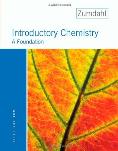 9780618304998: Introductory Chemistry: A Foundation