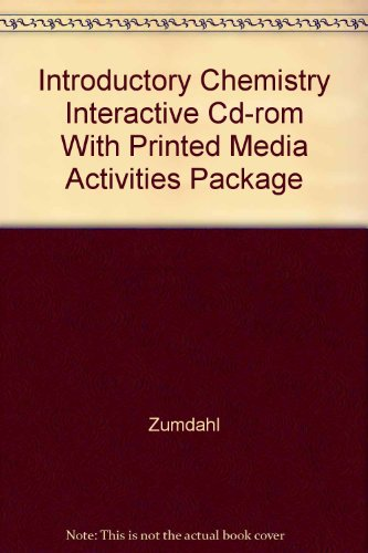 9780618305407: Media Activities to Accompany Introductory Chemistry: A Foundation, 5th Edition