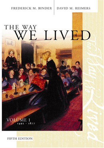 the way we lived essays and documents Pdf [download] the way we lived: essays and documents in american social history, volume i: 1492-1877 download online get pdf here  .