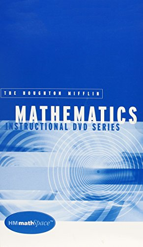 9780618306152: Hm Mathspace Instructional Dvds: Used with ...Aufmann-Beginning Algebra with Applications