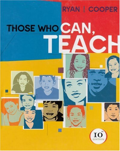 9780618307043: Those Who Can, Teach, 10th Edition