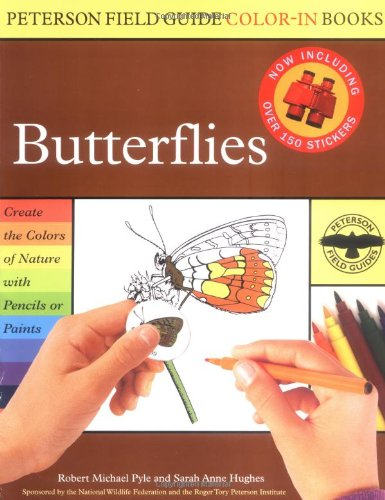 Butterflies (Peterson Field Guide Color-In Books) (0618307230) by Roger Tory Peterson; Robert Michael Pyle