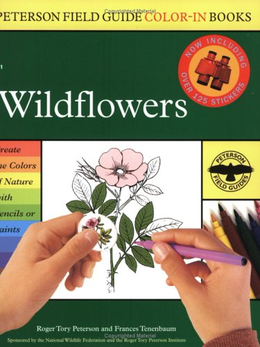 9780618307357: Wildflowers (Peterson Field Guide Colour-in Books)