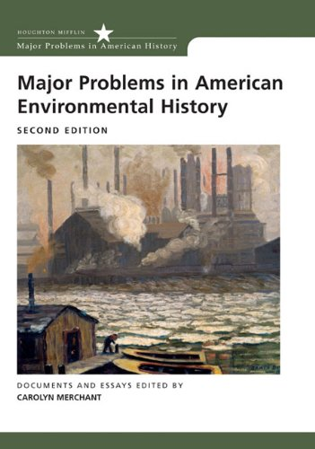 9780618308057: Major Problems in American Environmental History (Major Problems in American History (Wadsworth))