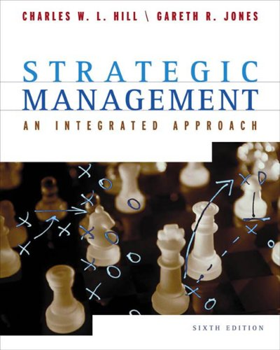 9780618309535: Strategic Management Sixth Edition
