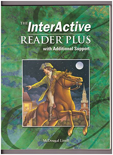 The InterActive Reader Plus with Additional Support: Arthur N. Applebee,