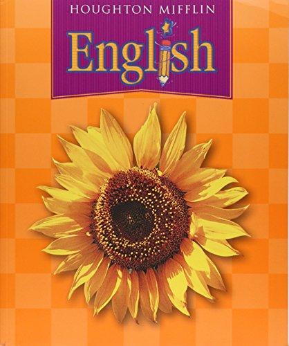 9780618309979: Houghton Mifflin English: Student Book (consumable) Grade 2 2004
