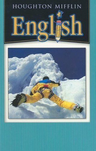 9780618310050: Houghton Mifflin English: Student Book Grade 8 2004
