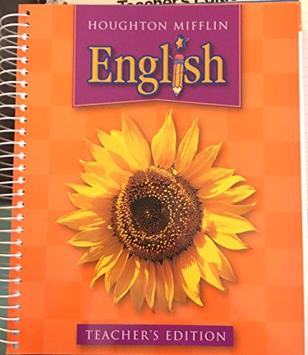 9780618310098: Houghton Mifflin English
