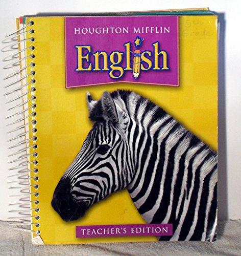 9780618310135: Houghton Mifflin English: Teacher Edition Level 5
