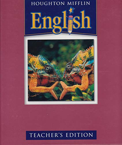 9780618310159: Houghton Mifflin English: Teacher's Edition Level 7 2004