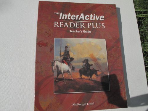 9780618310258: McDougal Littell Language of Literature: The InterActive Reader Plus Teacher s Guide Grade 7