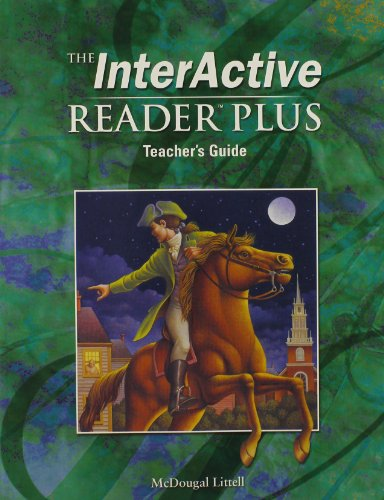 9780618310265: The Interactive Reader - Reader Plus - Teacher's Guide - Grade Eight (The Interactive Reader, Paperback)