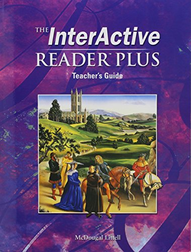 9780618310326: McDougal Littell Language of Literature: The InterActive Reader Plus Teacher s Guide Grade 12