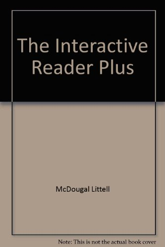 9780618310333: The Interactive Reader Plus