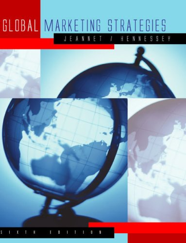 9780618310593: Global Marketing