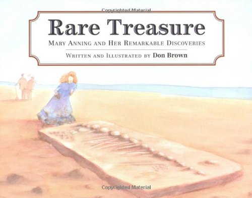 9780618310814: Rare Treasure: Mary Anning and Her Remarkable Discoveries