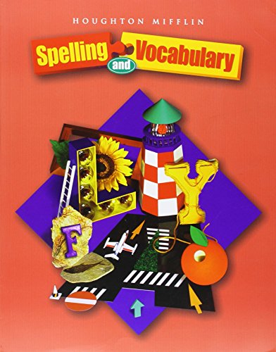 9780618311613: Houghton Mifflin Spelling and Vocabulary: Student Book (consumable) Grade 6 2004