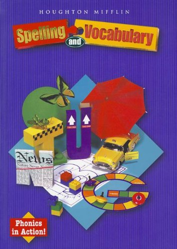 9780618311668: Houghton Mifflin Spelling and Vocabulary: Student Edition Non-Consumable Ball & Stroke Level 3 2004