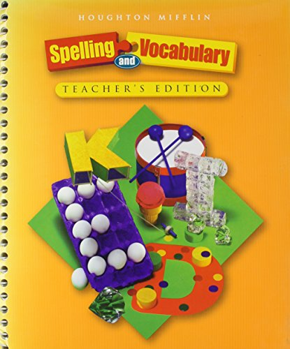 9780618311743: Spelling and Vocabulary