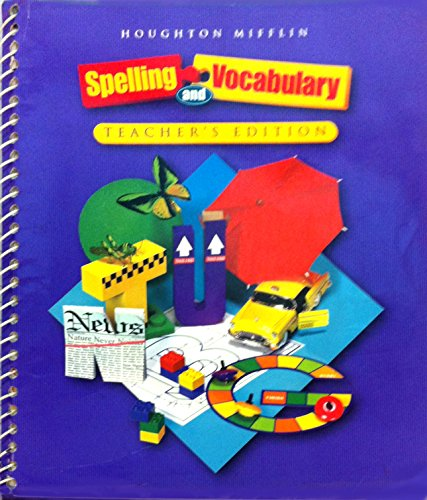 9780618311750: Spelling and Vocabulary: Teachers Edition