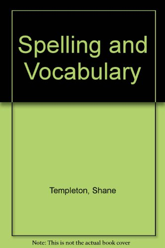 9780618311781: Houghton Mifflin Spelling and Vocabulary: Teacher's Edition Level 6 2004