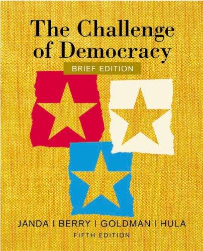 9780618312078: The Challenge of Democracy
