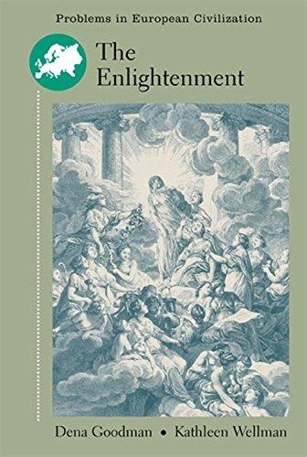 The Enlightenment.: Goodman, Dena; Wellman,