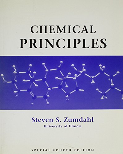 9780618313792: Chemical Principles, 4th Edition