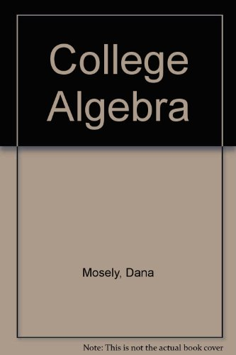 9780618314300: College Algebra D V D Sixth Edition