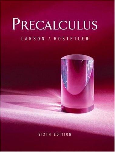 9780618314348: Precalculus (Sixth Edition)