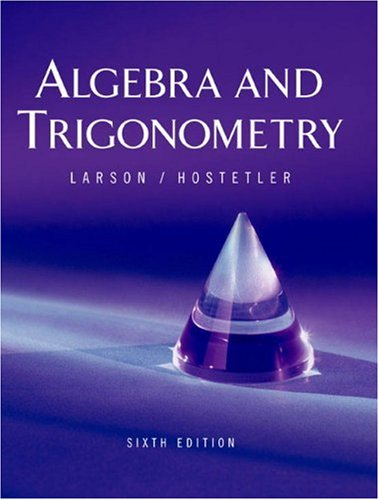 9780618317820: Algebra and Trigonometry, 6th Edition