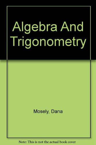 9780618317912: Dvds: By Dana Mosely: Used with ...Larson-Algebra and Trigonometry