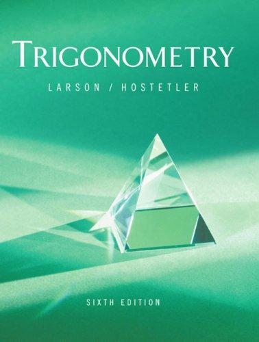 9780618317950: Trigonometry 6e