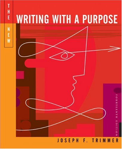 9780618318476: The New Writing with a Purpose, 14th Edition