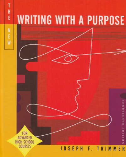 9780618318483: Writing With A Purpose Ap Version 14th Edition
