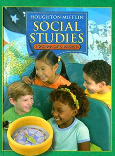 9780618320042: Houghton Mifflin Social Studies: Student Edition Level 1 School and Family 2005