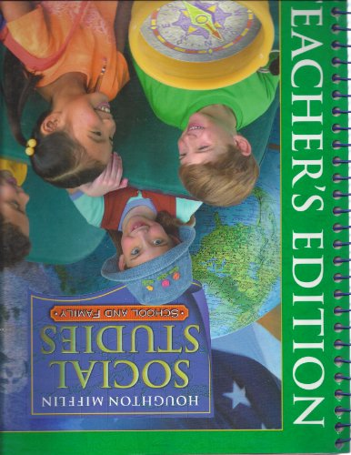 9780618320066: Houghton Mifflin Social Studies: School and Family Teacher's Edition